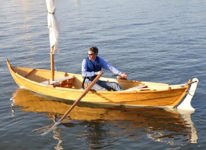 $4,000 OBO 15' Custom Built Norwegian Rowing/Sailing Boat