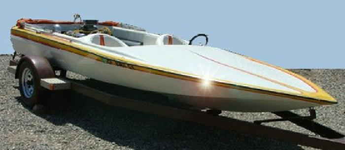 $4,200 1981 Haskell Jet Boat 17'