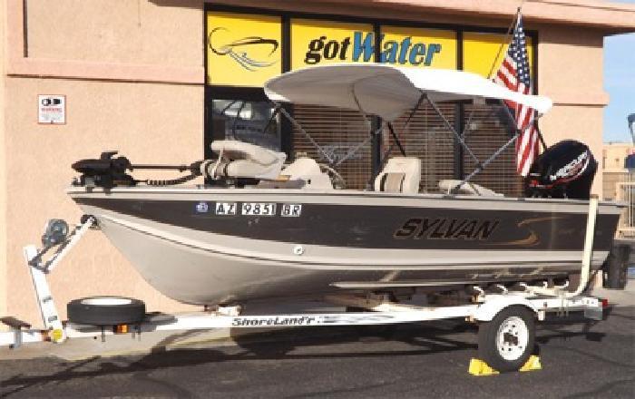 $4,695 2000 Sylvan Explorer 1500 Fishing Boat