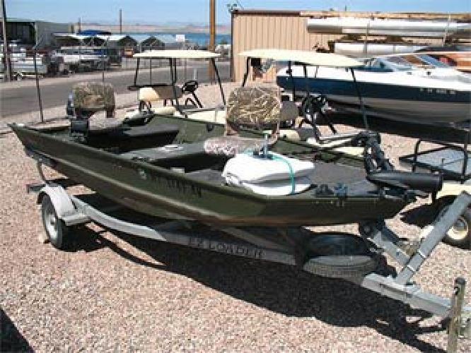 $4,799 2002 14' Alumacraft Aluminum Fish Boat