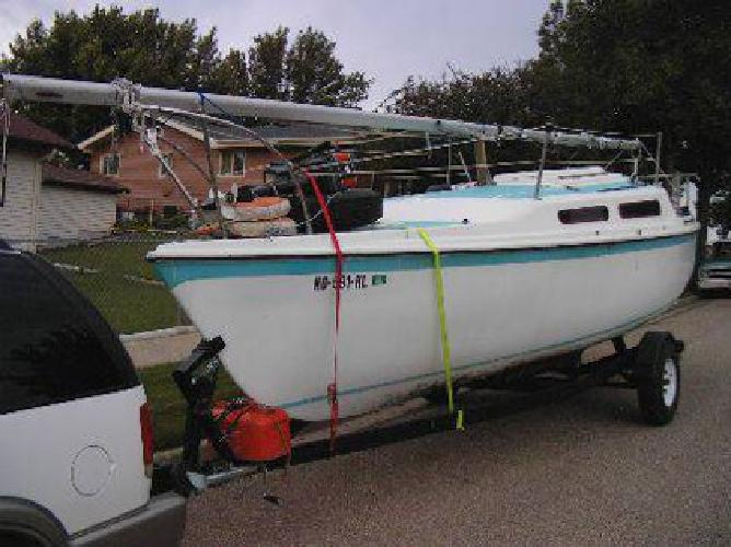 $4,950 25 Foot Sailboat