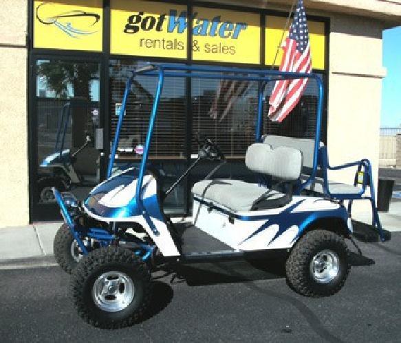 $4,995 Custom, Lifted, EZ-Go Golf Cart - Gas