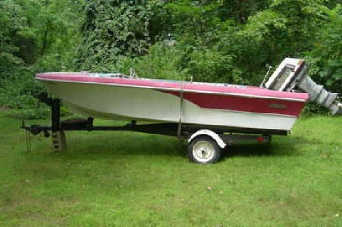 $500 Antique 1963 Glastron with 1959 Evinrude Motor Resturation Project