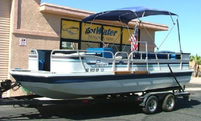 $5,500 1988 Playcraft Deck Boat 20'