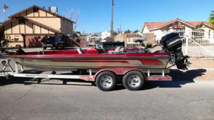 $5,500 86 Ranger Bass Boat W/Commanche Pkg (Las Vegas)