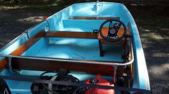 $5,500 Boston Whaler 13 25hp 4 stroke PT&T (Sandown NH)