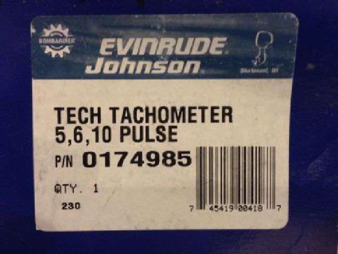 $60 OMC Tachometer 0174985 (Plymouth, MA)