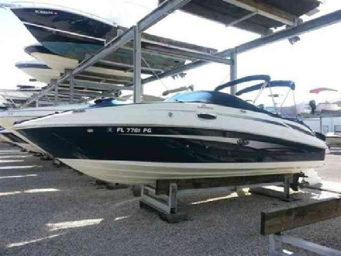 $62,994 2011 Sea Ray 260 SUNDECK