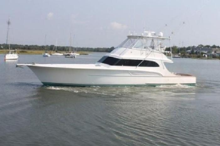 $650,000 2000 61' Buddy Davis Sportfish Freshwater only,never fished