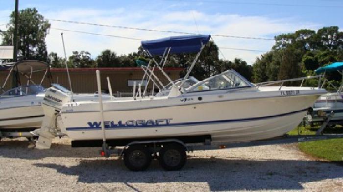 $6,900 21' Wellcraft 1996 V21 Cuddy