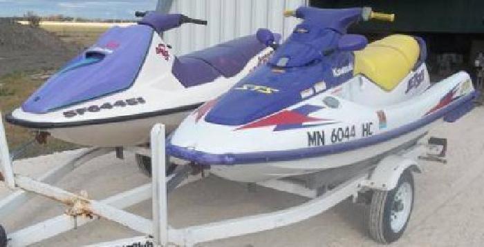 $6,900 Used 1997 Kawasaki and Sea-Doo STS 750 and Bomardier GTS 750 Jet Ski's for sale.