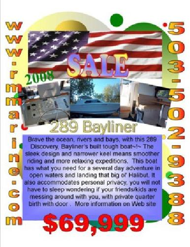 $69,999 LIVE ABOARD ABLE! 289 Discovery or use as second home write off