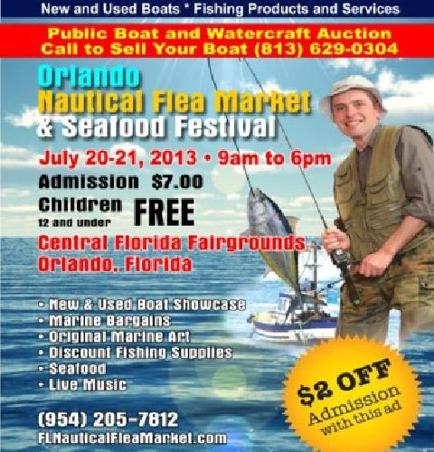 $7 OBO Orlando Public Boat and Watercraft Auction