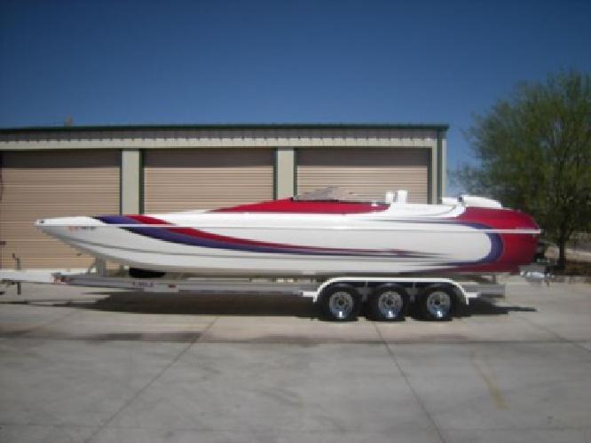 $72,900 2001 Eliminator 30 Daytona