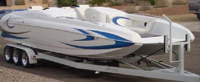 $73,000 2005 28? Magic Deck Boat