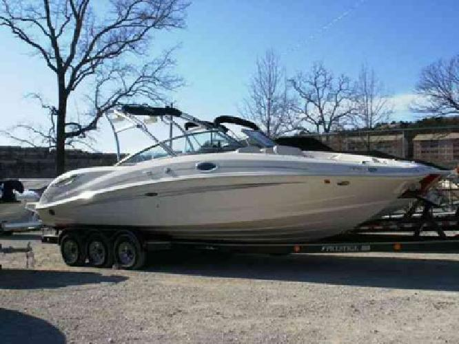 $73,395 2008 Sea Ray 290 SUNDECK