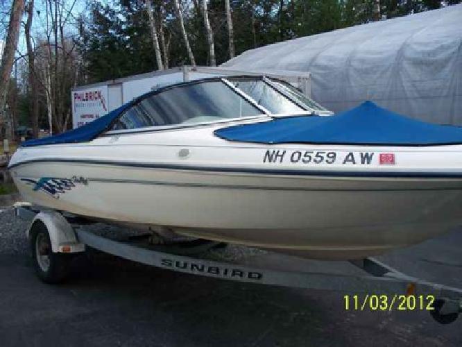 $8,200 Used 1996 SeaRay Sea Ray 175 Bowrider for sale.