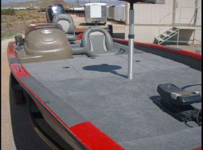$8,400 2007 Tracker Pro Team 190 19' Aluminum Bass Boat with 90 HP Mercury (S.