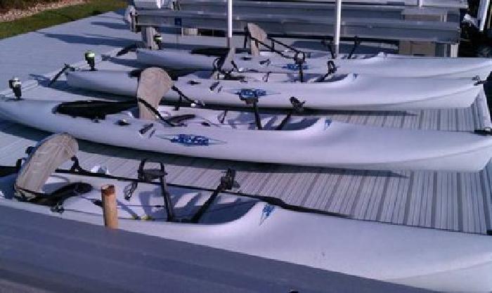 $950 Hobie Mirage Kayaks sit on top hydro sail drive - $950 (Marco Island f