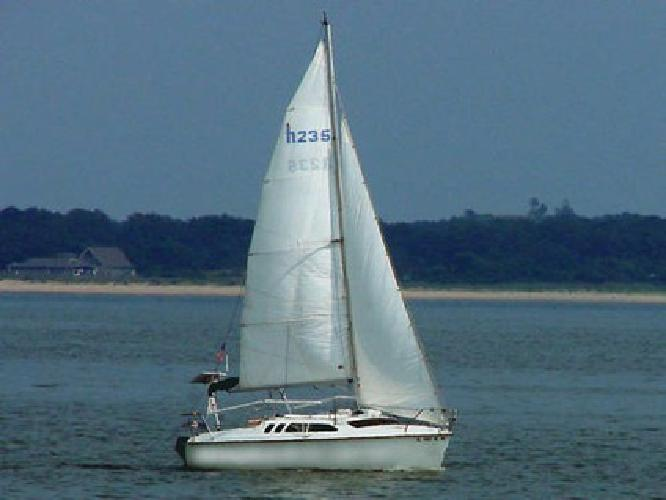 $9,850 1994 Hunter 23.5 Sailboat with Trailer
