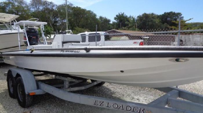 Back Country 202 Pro Guide Flats Boat