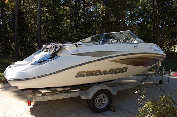 Good 2008 Seadoo Challenger 180 Jet Boat