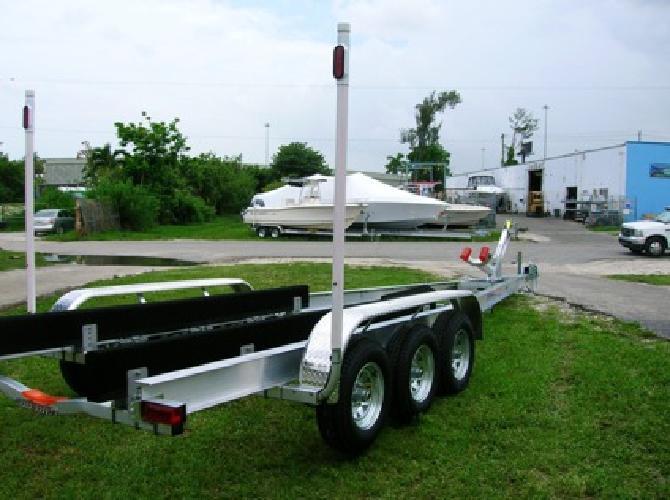 NEW 2012 Custom Aluminum Boat Trailers both IBeam and C Channel