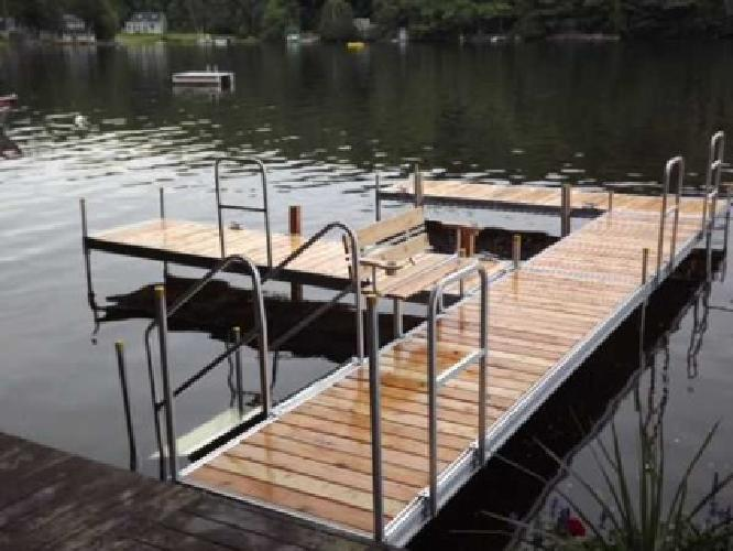 New Aluminum Docks !! [phone removed] (N.H./Maine)