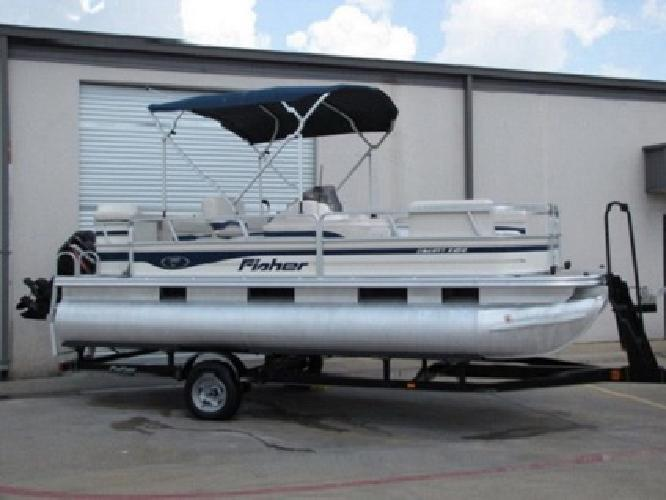 *~sq8A*~ 2007 FISHER LIBERTY 200'90HP MERCURY MOTOR ~HFDF.8*