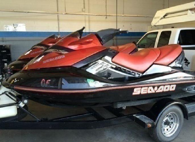 TWO 2007 Sea-Doo RXT Jet Ski