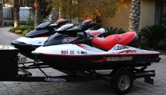 Two SEA DOO WAKE 215s}}}}} with Ziem Trailer,{{{{{