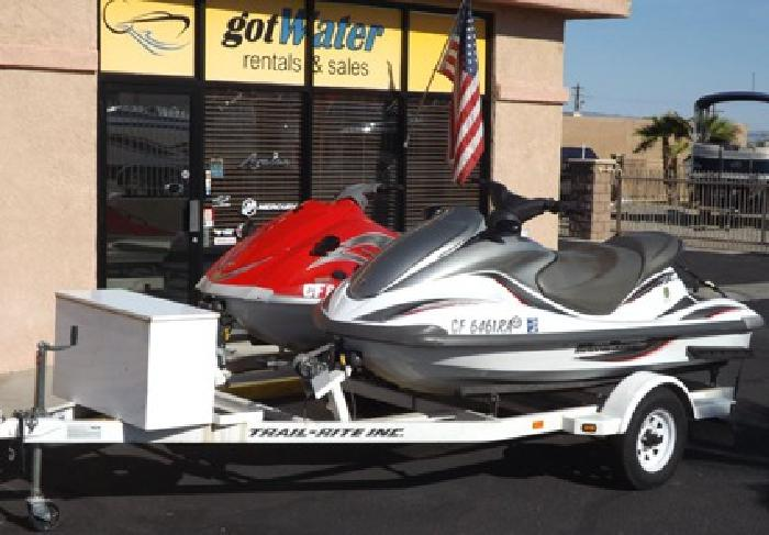 Yamaha WaveRunners - FX140 and VX110 Deluxe with Trailer
