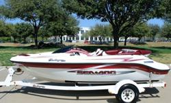 1999 SEA DOO CHALLENGER 18001999 TRAILER FACTORY TRAILER INCLUDEDBOAT IS IN REMARKABLE CONDITION FOR THE AGE. GARAGE KEPT AND COVEREDFULLY SERVICED WITH BOTH ENGINES AND JET PUMPSNEW WEAR RINGSCOMPRESSION TESTED AND LAKE TESTEDBOAT IS READY TO GOTHIS BOAT