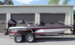 This boat was won by the winner of the 2015 Oakley Big Bass Tournament on Lake Norman on April 19, 2015 and includes the following features:? Flush-mounted Lowrance® Mark-5x Pro fishfinder w/480x480 pixel display & surface temperature? Custom-molded