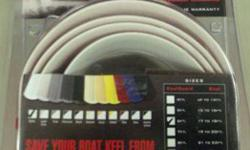 """New White Keel Guard.*6' long x 5"""" wide.*Fits 17'-18' Boats.*Package is unopened.*Lists for $159.*Terrific Deal for this 1 $100.*Bring me your boat and I'll install it for you for another $150.*Phone calls only please.*Call Curtis @ (434)"""