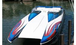 2004 Eliminator Boats Daytona 30. Immaculate! Mercruiser 500 EFI Racing Engines 502 cid with 98 hours, Mercruiser Bravo one Drives, Livorsi Controls Color matched to the boat, Over 8000 dollars invested in the stereo, four amps located beneath port cabin