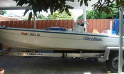 i am selling an 18 ft pro-sports flats boat with extras the boat has a very good continental trailer and the boat has a115 hp Yamaha run perfectly. i am asking for $10000 obo