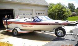boat is in very good condition, approx.660 hrs., 454 c.i. 425 hp. CD player, bose speakers, 2 extra OJ performance props, new cover....call Dave at 815-222-4418