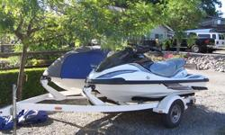 (2) Waverunners and trailer