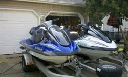 1 2005 Yamaha Waverunner FX HO Cruiser1 2005 Yamaha Waverunner FX HO Priced below Nada Guide Low Retail Low Hours Well maintained - yearly winterizing and oil change Dual Road King Trailer (Aluminum) with spare Both are 3 seaters capable of pulling