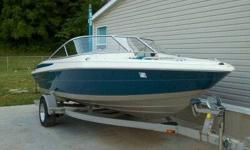 Maxum 1900 sr2, V-6 Mercruiser boat with trailer for sale. Less than 50 hours (NOT a MISPRINT!). Stored inside most of life. Comes with all toys (air chair, skurfers, skis, parasail, water island-trampoline with slide, ride on chariot), vests, wet & dry