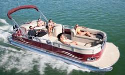 """Construction ¨ 19' Length - 8 1/2' Wide ¨ Two ? 25"""" diameter pontoons ¨ Heavy duty 3"""" reinforced deck rail ¨ Heavy duty C-channel crossbeams ¨ Corner castings all four corners ¨ Extra heavy duty motor pod double bolted with 3/8"""" SST bolts attached to"""