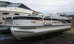2005 Crestliner 2050 2005 Crestliner 2085 cfi. This is the fishing package with four fishing chairs. the boat has a 25 H.P. Mercury four stroke big foot motor.very good condition. there is a cover that is included. also the boat has a changing room and a