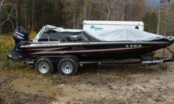I have for sale a 1995 Hydra-Sport 19' Bass Boat with dual axle trailor. Trailor has Hydraulic brakes. 175HP V6 Evinrude 2-Stroke. It has dual onboard charging system for the trolling motor batteries. 72lb thrust 12-24v trolling motor. Dual Live wells.