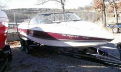 1999 Tige 211 Great beginning family ski boat. With only 386 hours on it, this Tige' is ready for a new home. (Trailer pictured is not included). Call today for your private showing. For more information please call