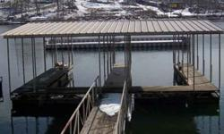 Like New, two Slips, Covered Dock, ten X 28 Slips For Sale by Dock Brokers - Lake Ozark, Missouri Exterior Color