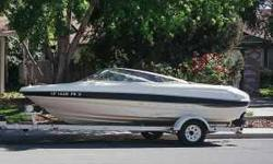 Props Depth Swim ladder anchor swim platform 2000 Bayliner Capri LX with trailer included. 18.5ft. open bow, V6 190 hp, Great for pulling skiers, wake boarders, and tubers. This boat is in good condition and runs great. Full financing, extended