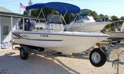 191 Bay Boat, 150HP HPDI 2-stroke,2008 Continental Trailer, 2 batteries with switch, rigged for a trolling motor, Lowrance GPS LMS 527 Color, VHF radio, am/fm stereo cassette with face plate Sony.