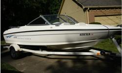2008 Bayliner 175 Bowrider, Mercruiser 3.0 L 135 hp; excellent condition, bought new in Feb 2009, less than 40 hours of engine use, professionally serviced every year and stored in boat house, carport or under canopy; includes depth gauge installed on