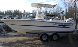 This 22 ft Center Console is set up to fish. With lots of fish boxes and three live wells. Washdown Anchor and and line. Tandem trailer. The 200 Evenrude is a 1993 model with low hours Call Angus 1(803)532-2270